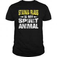 Cool  Stained Glass Spirit Animal Shirts Shirt; Tee