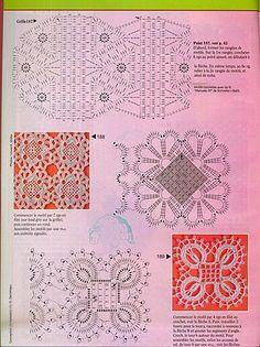 Squares De Crochê