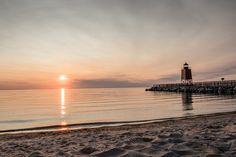 Charlevoix Michigan Sunset