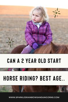 Looking to get your child into horse riding? In this article you'll find info on whether a child can start riding at 2 years old. Find out the best age for a child to start riding. Get some tips for toddlers starting horse riding. About whether it's a good idea for a teen to start riding and more. #horseriding #horsebackriding #ridinglessons #agehorseriding #kidsandhorses Horseback Riding Tips, Line Lesson, Hissy Fit, Kids Sand, Horse Training Tips, Pony Rides, Riding Lessons, 8 Year Olds, Horse Care