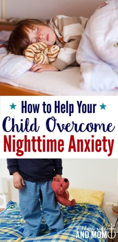 Learn the most effective way to respond when your child is afraid to sleep alone. If your child keeps getting out of bed and is afraid of the dark, this tip will help with nighttime anxiety.