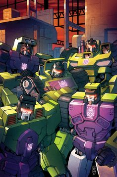 Brilliant Illustrations by Joana Lafuente Transformers Decepticons, Transformers Prime, Transformers Generation 1, Transformers Bumblebee, Hasbro Studios, Dc Movies, Design Graphique, Illustrations, Marvel Dc
