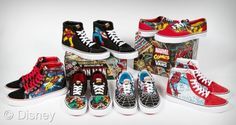 3e481f5f942 Disney and Marvel Make Back to School Fun. Vans SneakersCool ...