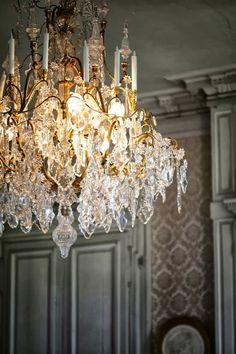 ♜ Shabby Castle Chic ♜ rich and gorgeous home decor -  Château de Valençay, Loire Valley | by floorabella