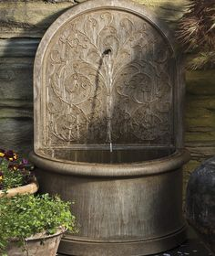 Corsini Water Fountain | Frontgate: Live Beautifully Outdoors