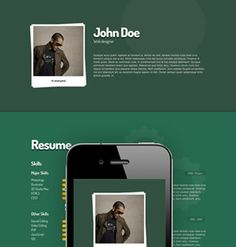 Me Responsive vCard theme for WordPress