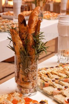 Canapes. Stunning!