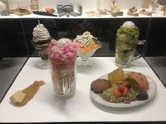 Various desserts in Oldenburgs Mouse Museum