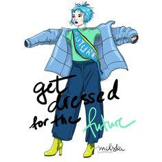 Photoshop Illustration #fashion #mode #future #parka #fashionillustration Illustration Fashion, Parka, Photoshop, Lettering, Future, Future Tense, Drawing Letters, Parkas, Brush Lettering
