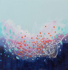 "Saatchi Online Artist: Georgina Vinsun; Mixed Media, 2013, Painting ""Rita"""