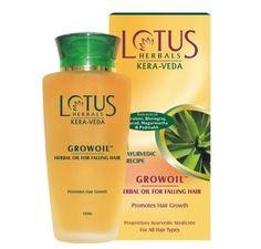 Grow Hair Herbal Oil From Lotus Herbals