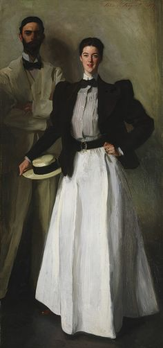 Mr. and Mrs. I. N. Phelps Stokes, 1897  John Singer Sargent (American, 1856–1925)  Oil on canvas