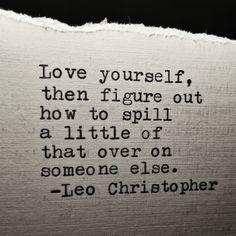 Love Yourself • Leo Christopher