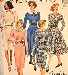 1980s Vintage Plus Size Uncut McCall's by TabbysVintageShop, $8.00