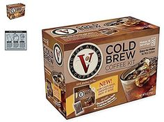 Victor Allen Coffee Now Offers A VA Cold Brew Coffee Fridge Kit With A Reusable Pouch Cold Brew At Home, Coffee Menu, Instant Coffee, Gourmet Recipes, Brewing, Pouch, Kit, South America, Smooth