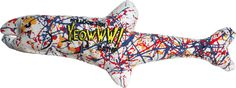 Jackson the Pollock. Cats love abstract expressionism. Particularly when they're toys are stuffed with YEOWWW! catnip  http://hjmews.com/collections/toys/products/jackson-the-pollock