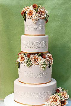 фото торта Букет невесты 2