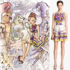 RED Valentino Embraces Fantasy & Fairytales for Spring/Summer 2013