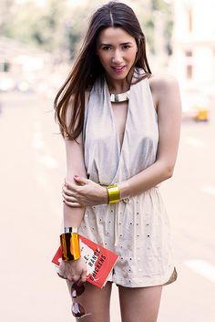 Fabulous Muses: Make Summer Worth (COOEE Design Bracelets, H Shorts, Zara Sandals)