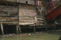 Jakarta Slum Bridge  - Stock Footage | by youseehim
