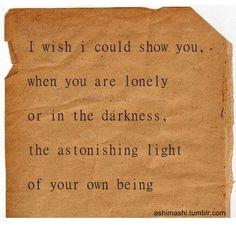 beautiful words….