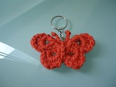 Ravelry: Butterfly Keychain pattern by TamaraD