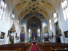Katholische Pfarrkirche St. Nikolaus - Übersee, Lk Traunstein, Bayern, Germany