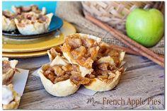 mini french apple pie recipe