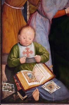 Quentin Matsys - Saint Anne Altarpiece. Detail. 1507 - 1508