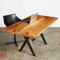 5.5' desk  #UrbanHardwoods #SalvagedWood
