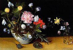Jan Brueghel der Jüngere - Still Life of Flowers