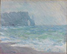 Claude Monet - Regnvær, Etretat - Google Art Project.jpg