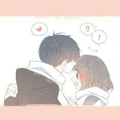 Cute Couple Art, Anime Love Couple, Manga Couple, Anime Couples Manga, Cute Anime Couples, Chica Anime Manga, Anime Chibi, Kawaii Anime, Manga Romance