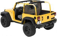 Bestop® Windjammer™ for 2007-2013 Jeep Wrangler JK - Khaki