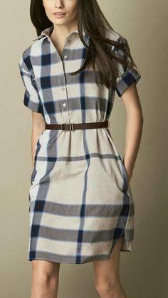 Dresses - Shop Affordable Designer Dresses for Women online Stylish Dresses, Simple Dresses, Nice Dresses, Casual Dresses, Summer Dresses, Look Fashion, Hijab Fashion, Fashion Dresses, Burberry Dress
