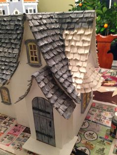 A&C Construction: The Storybook Cottage Ikea Dollhouse, Dollhouse Kits, Dollhouse Furniture, Storybook Homes, Storybook Cottage, Miniature Houses, Miniature Greenhouse, Miniature Rooms, Diy Doll Miniatures