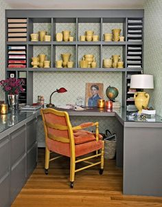 Awesome Decorating With Patterns. Cool Office SpaceOffice NookHome Office DesignHome  ...