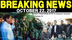 BREAKING NEWS TODAY OCTOBER 22 2017 PRESIDENT DUTERTE l TRILLANES l MARA...