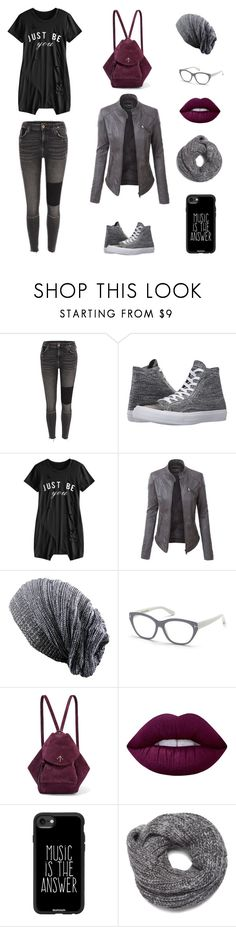 """""""Alter Ego"""" by lida-shny on Polyvore featuring Converse, LE3NO, Tom Ford, MANU Atelier, Lime Crime, Casetify and Nine West"""