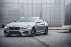 Revised Front End of Gray BMW 6-Series