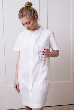 Shirt dress in white Hijab haute hijab 74 questions Blue Midi Dress, Belted Dress, White Dress, All White Party Outfits, Modest Fashion Hijab, Cotton Shirt Dress, Short Dresses, Summer Dresses, Dress Shirts For Women