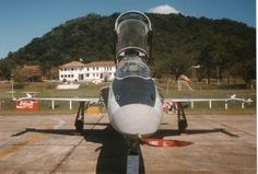 F-5F FAB 4809 Esquadrão Pampa  no ano de 1994 em Forianópolis SC Brasil.
