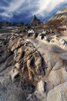Bisti Dark - La zone sauvage et captivante de Bisti Wilderness.