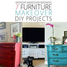 Monday Makeover Madness: 7 Furniture Makeover DIY Projects - The Cottage Market