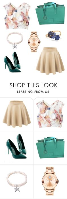 """""""Inspiration - 2017 :)"""" by daniellecvs ❤ liked on Polyvore featuring LE3NO, Rebecca Taylor, Ralph Lauren Collection, Movado and Banana Republic"""