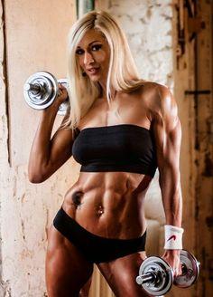 Olga Kulinych - Female Fitness Models