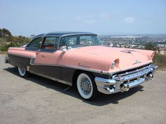 1956 Mercury Montclair.