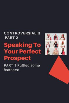 """I got some push-back from my recent article, The Perfect Prospect Fallacy.  Nothing surprising. Especially when you come right out and say that you disagree with what a bunch of people are teaching. LOL!!!  Now for the record... I'm not the only person who disagrees with this whole idea of creating the avatar of your ideal prospect.  There are some """"big names"""" who I've spoken to who completely agree with me.  So this avatar thing..."""