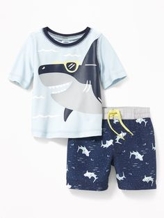 Old Navy Shark-Graphic Rashguard & Printed Trunks Set for Baby Shark Swimsuit, Baby Swimsuit, Baby Boy Dress, Baby Boy Outfits, Kids Outfits, Newborn Boy Clothes, Baby & Toddler Clothing, Junior Girls Clothing, Kids Nightwear