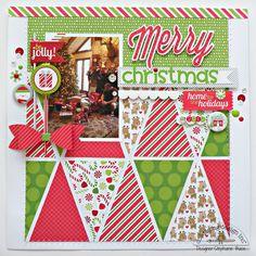 10 Beautiful Christmas Scrapbook Layout Ideas 2016